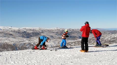 esqui novatos