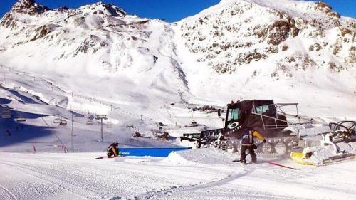 Estaciones esqui feriado Constitucion