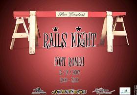 Rails Night - Font Romeu