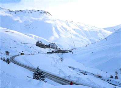 Entrada al valle Astun